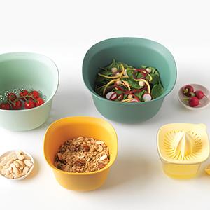 Brabantia Tasty Plastica Assortiti Set Ciotole