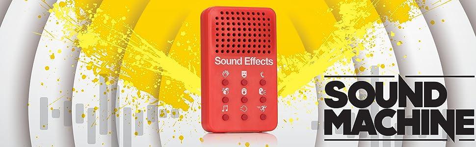 NPW Sound Effect Prank Toy - Green Sound Machine Cartoon