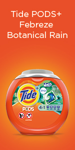 Tide PODS Plus Febreze Botanical Rain