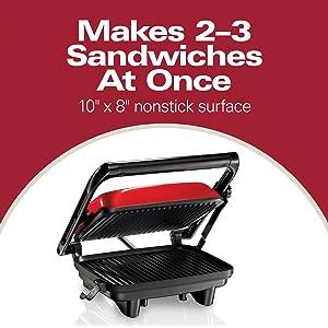 nonstick sandwich press