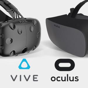 HTC VIVE & Oculus Rift VR Optimized