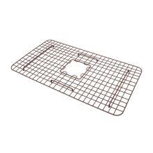 copper, kitchen sink, bottom grid, sink protection