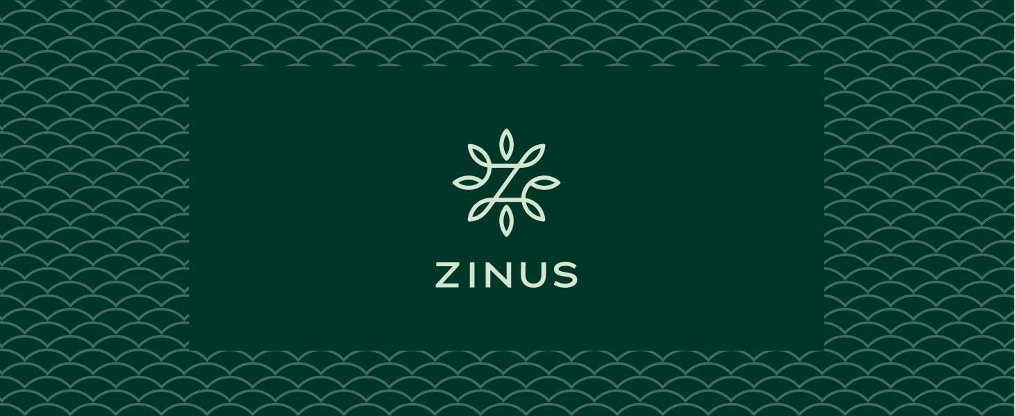 Zinus brand banner