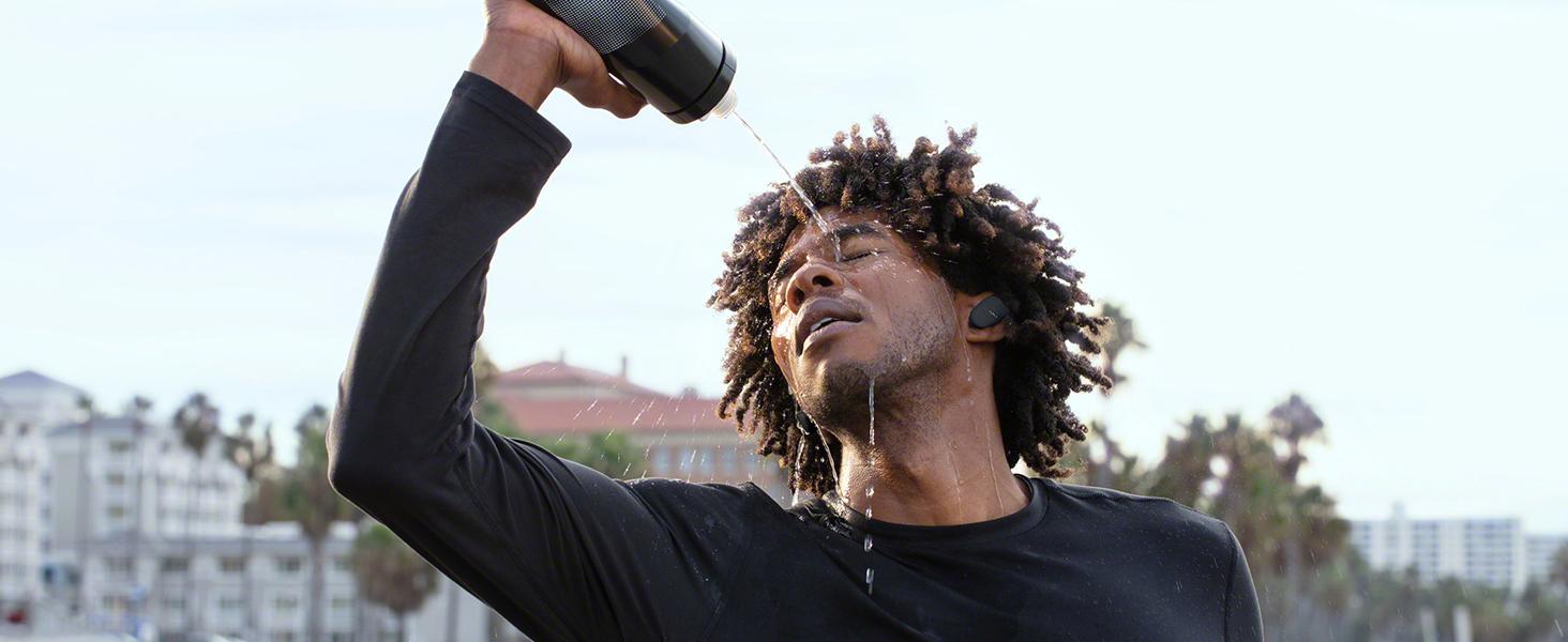 Sweat and splash-proof