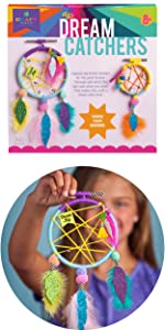 easy room décor for kids dream catchers yarn wrapped craft for teens tweens