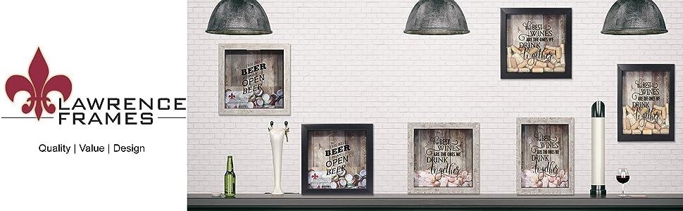 Lawrence Frames Wine Cork Holders