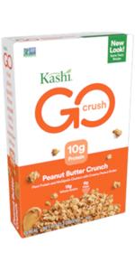 Kashi GO Peanut Butter Crisp CrunchCereal