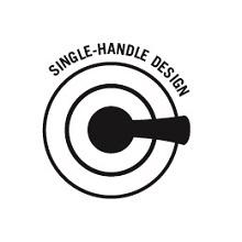 single handle design valve trim kit