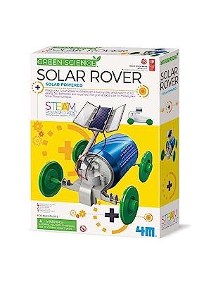 4m rover robot, green science, 4m robots, 4m SOLAR ROVER