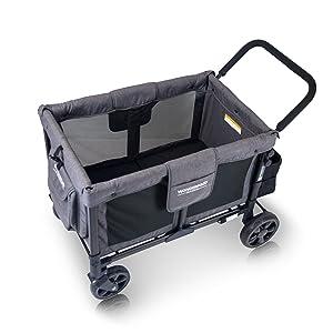 wonderfold wagon baby wonderfd multifunction stroller wonder fold familidoo 4 seat quad passenger