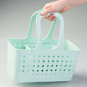 college dorm soap bathroom caddy tote shower stall brush comb toothbrush paste lotion skincare soap