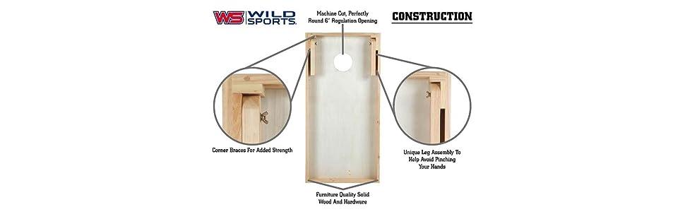 Wondrous Sports Outdoors Wild Sports Chfv 1 2 X4 X4 Solid Wood Aca Dailytribune Chair Design For Home Dailytribuneorg