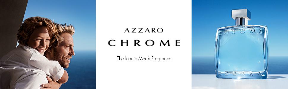Amazon.com: Azzaro Chrome Eau de Toilette - Cologne for Men: Azzaro:  Premium Beauty