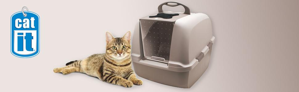 Hooded Cat Litter Tray B And M