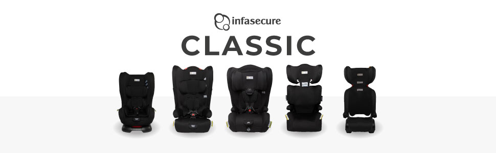 infasecure infa secure classic car seat range
