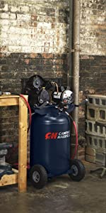 30 Gallon Campbell Hausfeld Air Compressor, 2 Stage Air Compressor, Campbell Hausfeld