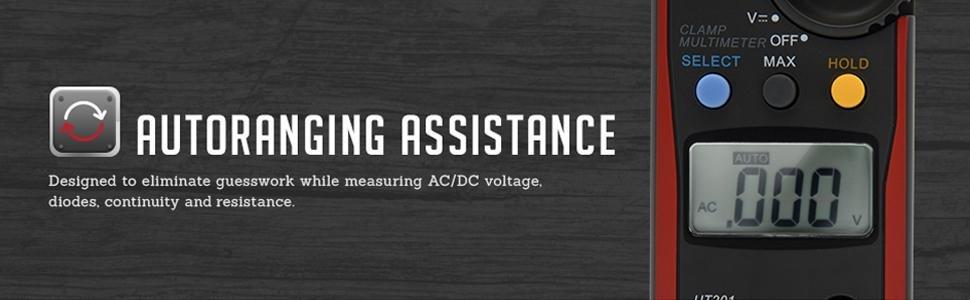 autoranging assistance