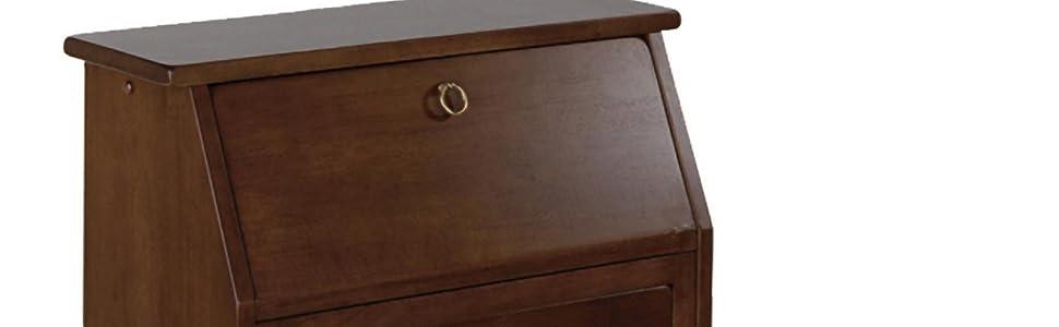 Amazon Com Winsome Wood 94339 Regalia Home Office Walnut