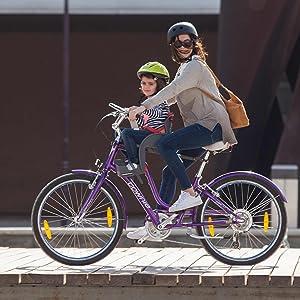 WeeRide 98277 Sillita Portabebés para Bicicleta, Infantil, Gris, S ...