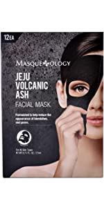 ... Masqueology Jeju Volcanic Ash Facial Mask sheet mask face mask