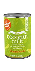 pure natural value coconut milk