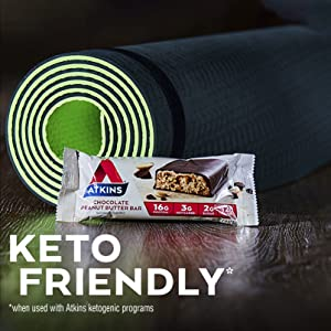 atkins keto friendly meal bar protein low carb