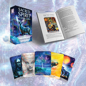 sacred spirit; reading cards; intuition; soul; guidance; oracle cards; inspiration; angel; healing
