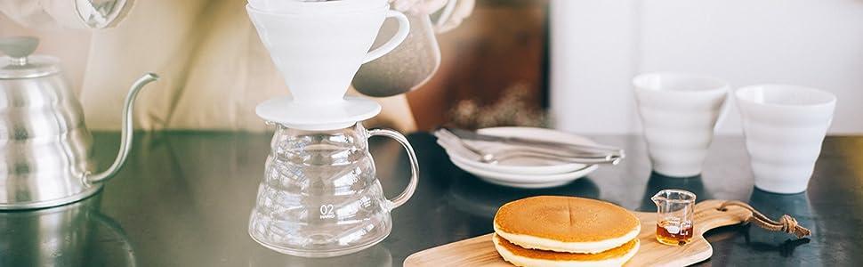 HARIO ハリオ はりお 耐熱ガラス ガラス 電子レンジ使用可能 コーヒー 紅茶 ビーカー 耐熱ガラス製 日本製 おうち時間 コーヒーサーバー サーバー ハンドドリップ