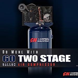 60 gallon air compressor, 60 gallon 2 stage air compressor, campbell hausfeld air compressor