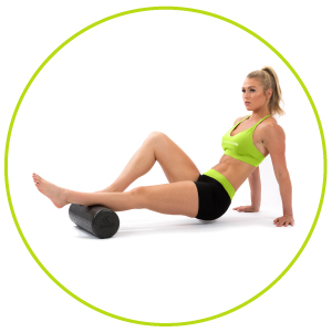 Streching rumbleroller gaiam spri therapy