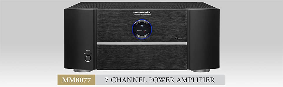Marantz MM8077 Power Amplifier – 7-Channel Power Amplifier for Ultimate  Home Theater & Audio