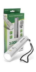 InLine PowerBank 3000mAh mit LED Taschenlampe ab 31,99