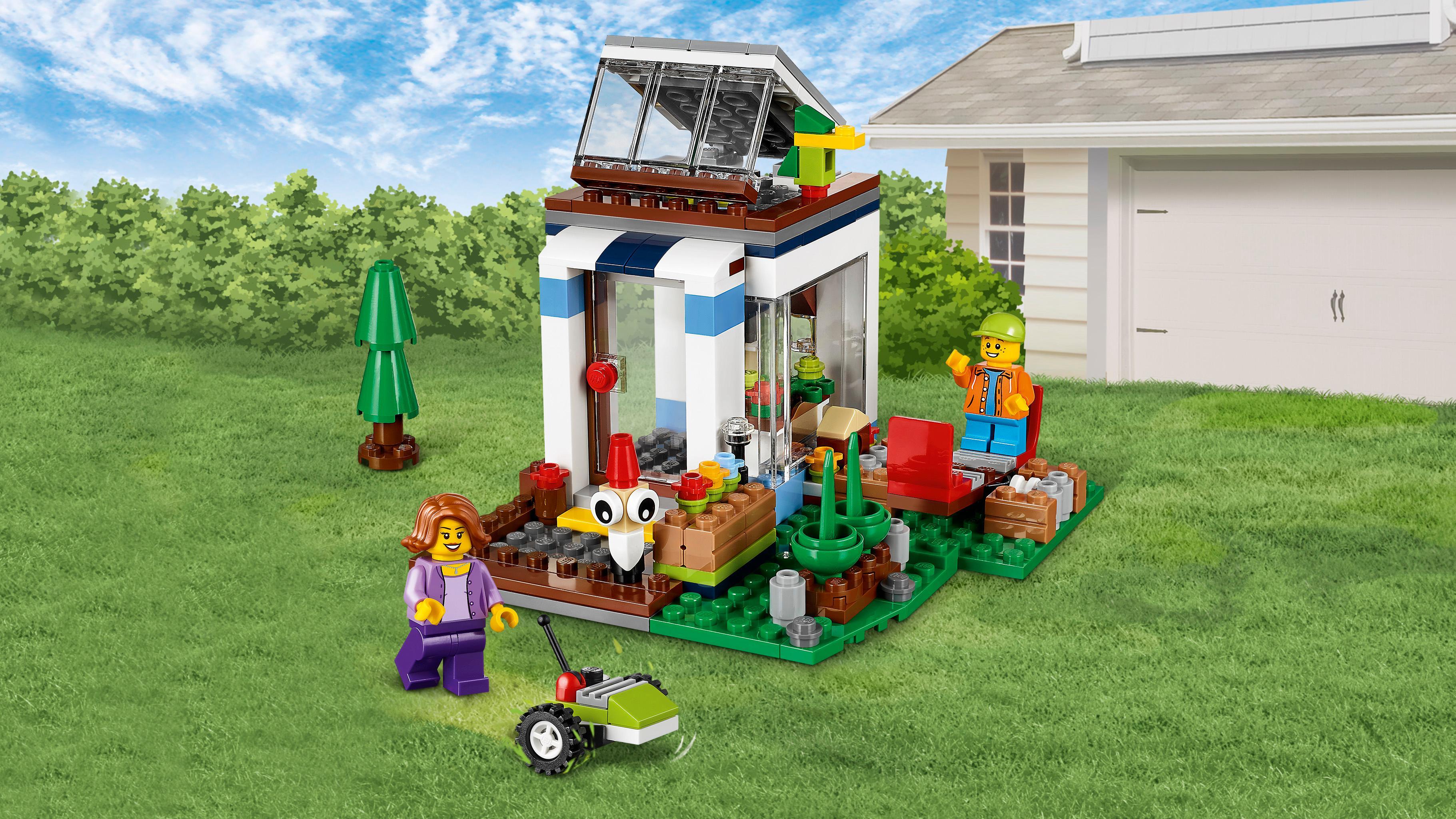 Lego creator casa modular moderna 31068 juego de for Casa moderna juegos