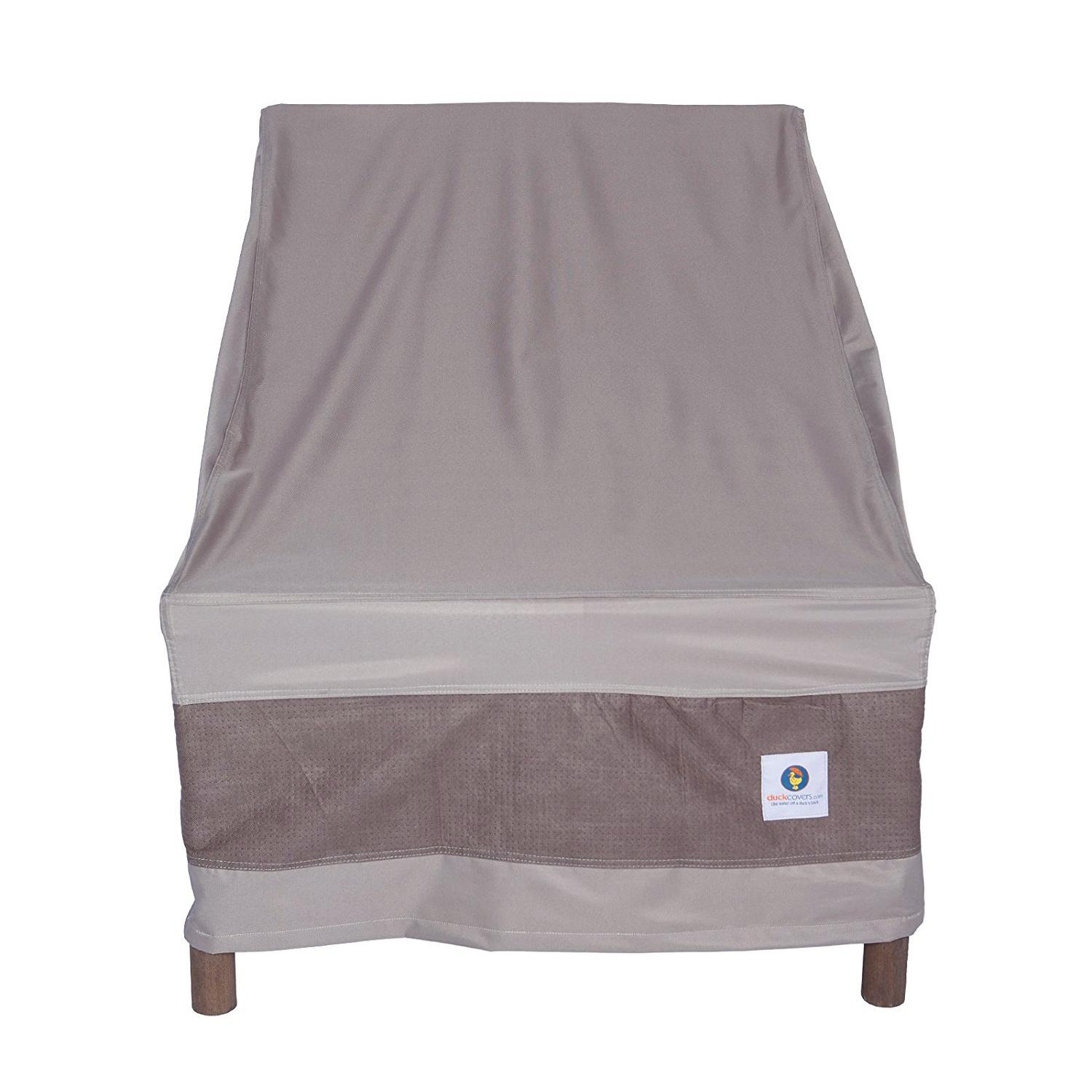 Duck Covers Elegant Stackable Patio Chair Cover Fits