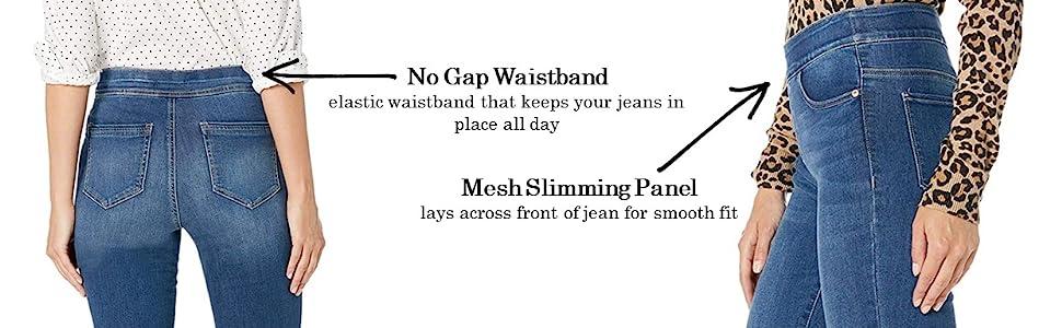 fit, slimming, skinny, flexi fit, elastic waistband