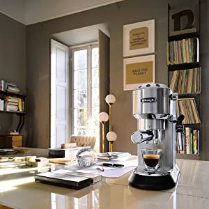 coffee machine colour metal DeLonghi Australia