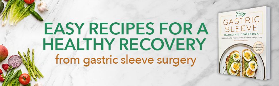 Gastric sleeve cookbook, easy gastric sleeve cookbook, bariatric  cookbook, bariatric