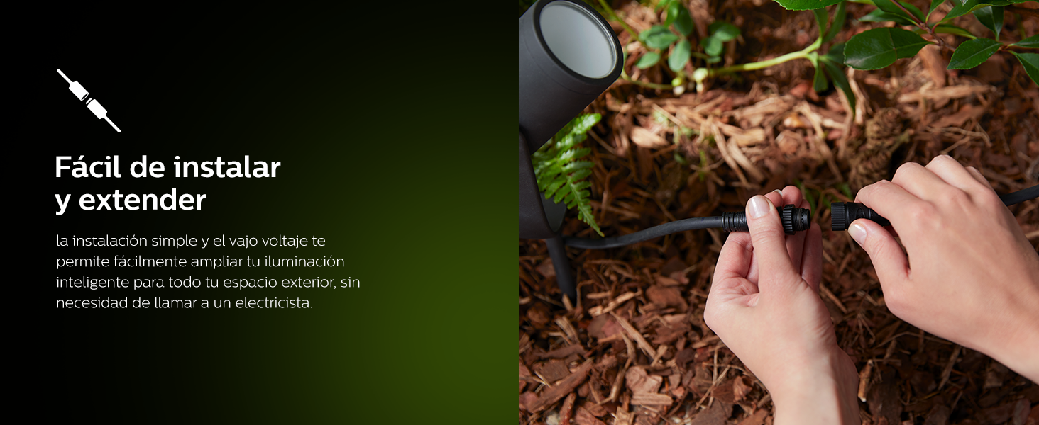 Philips Hue Outdoor, Luces inteligentes de exterior de color