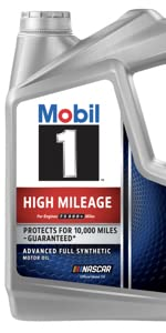Mobil 1 High Mileage Synthetic Oil