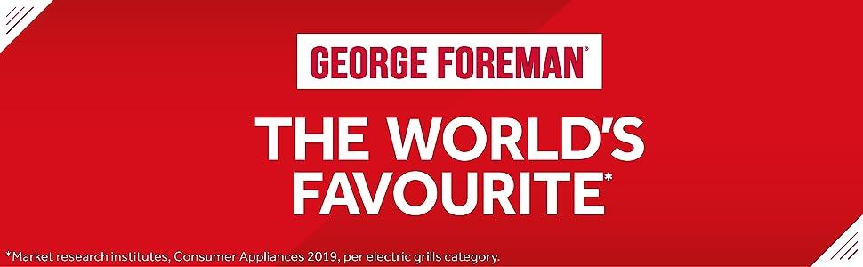 George Foreman BBQs
