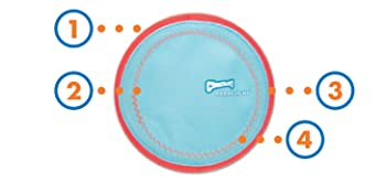 dog frisbee, frisbee for dogs, dog frisbee indestructible, chuck it frisbee for dogs, soft frisbee,