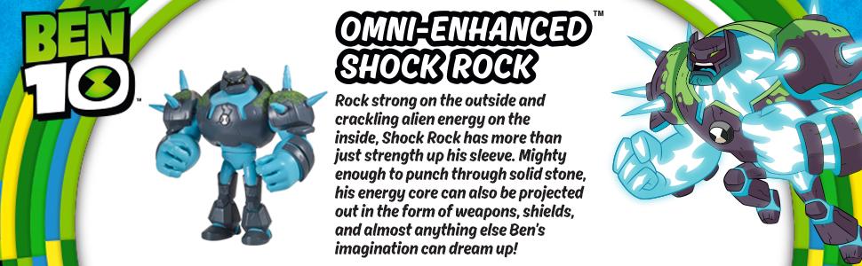 Ben 10, Shock rock, shockrock