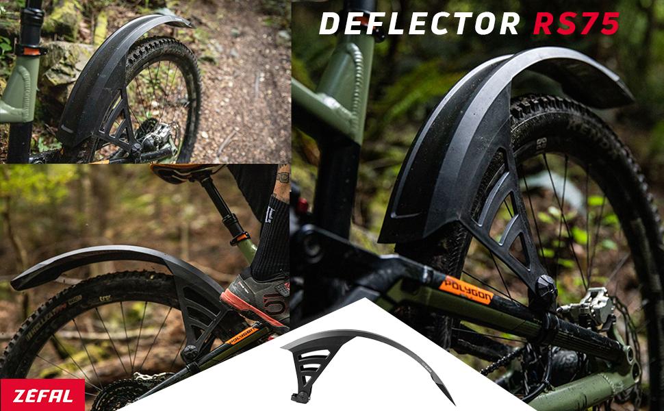 27.5 Black 29 Zefal Unisexs Deflector RS75//FM60 Mudguard Set