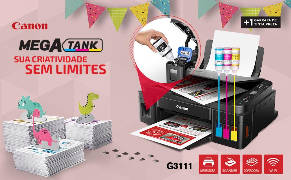 Impressora Canon Mega Tank G3111