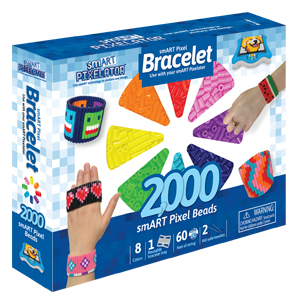 smart pixelator bracelet maker set