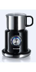 ... Severin, 9688, espumador, leche, chocolate, caliente, espumar, calentar, ...
