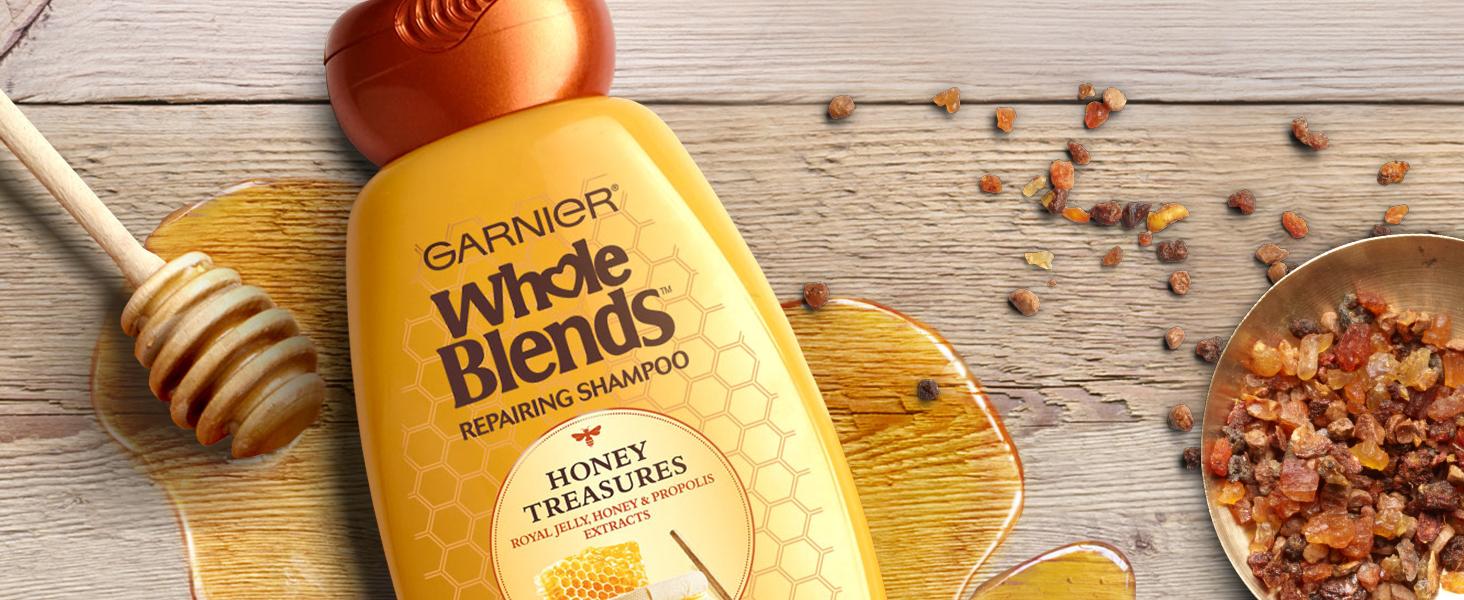 whole blends honey treasures shampoo