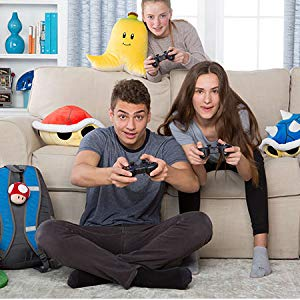 Fun time with friends with the bright and colorful plush toys making your home comfortable