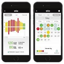 Aplicación Braun Healthy Heart: fácil acceso a sus datos