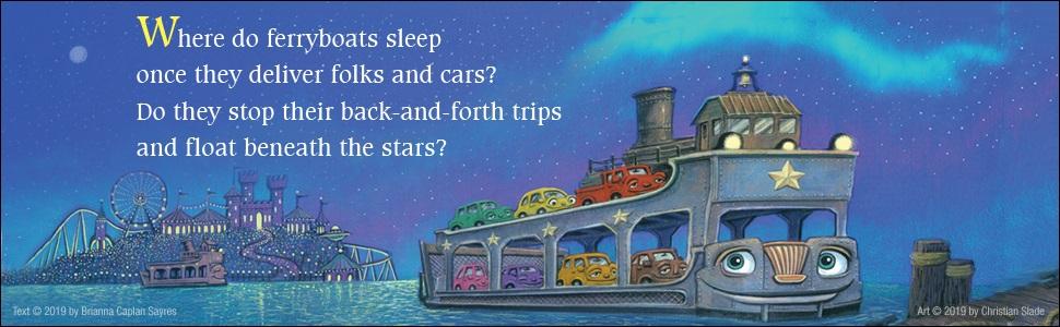 Where do speedboats sleep, Brianna Caplan Sayres, diggers, boats, trucks